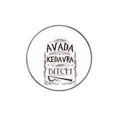 Avada Kedavra Bitch Hat Clip Ball Marker