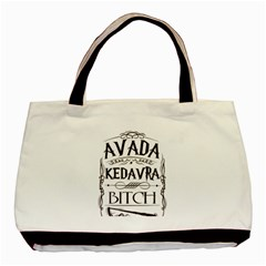 Avada Kedavra Bitch Basic Tote Bag