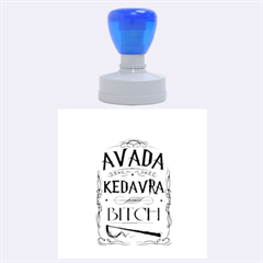 Avada Kedavra Bitch Rubber Round Stamps (large)