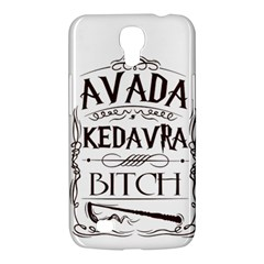 Avada Kedavra Bitch Samsung Galaxy Mega 6 3  I9200 Hardshell Case