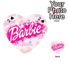 Barbie Pattern Playing Cards 54 (Heart)