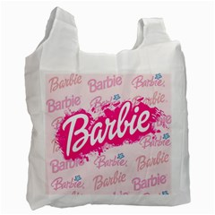 Barbie Pattern Recycle Bag (two Side)