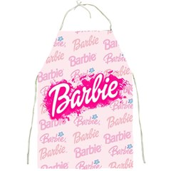 Barbie Pattern Full Print Aprons
