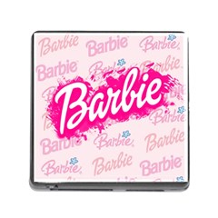 Barbie Pattern Memory Card Reader (square)