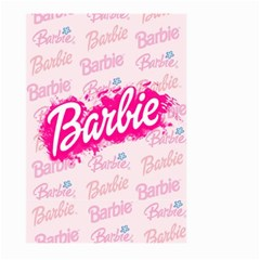 Barbie Pattern Large Garden Flag (two Sides)