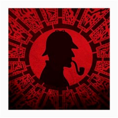 Book Cover For Sherlock Holmes And The Servants Of Hell Medium Glasses Cloth