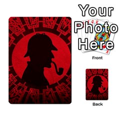 Book Cover For Sherlock Holmes And The Servants Of Hell Multi Purpose Cards (rectangle)