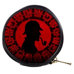 Book Cover For Sherlock Holmes And The Servants Of Hell Mini Makeup Bags