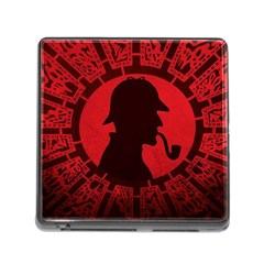 Book Cover For Sherlock Holmes And The Servants Of Hell Memory Card Reader (square)