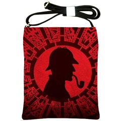Book Cover For Sherlock Holmes And The Servants Of Hell Shoulder Sling Bags