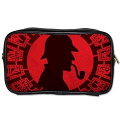Book Cover For Sherlock Holmes And The Servants Of Hell Toiletries Bags