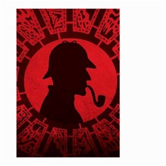 Book Cover For Sherlock Holmes And The Servants Of Hell Small Garden Flag (two Sides)