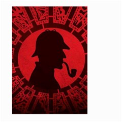 Book Cover For Sherlock Holmes And The Servants Of Hell Large Garden Flag (two Sides)