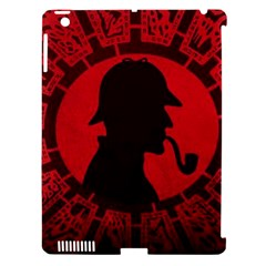 Book Cover For Sherlock Holmes And The Servants Of Hell Apple Ipad 3/4 Hardshell Case (compatible With Smart Cover)