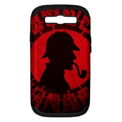 Book Cover For Sherlock Holmes And The Servants Of Hell Samsung Galaxy S Iii Hardshell Case (pc+silicone)