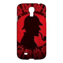 Book Cover For Sherlock Holmes And The Servants Of Hell Samsung Galaxy S4 I9500/i9505 Hardshell Case