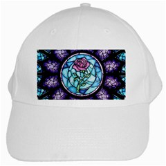 Cathedral Rosette Stained Glass Beauty And The Beast White Cap