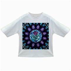 Cathedral Rosette Stained Glass Beauty And The Beast Infant/Toddler T-Shirts