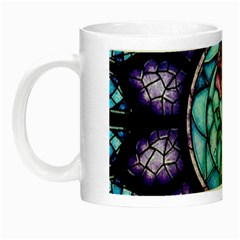 Cathedral Rosette Stained Glass Beauty And The Beast Night Luminous Mugs