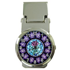 Cathedral Rosette Stained Glass Beauty And The Beast Money Clip Watches