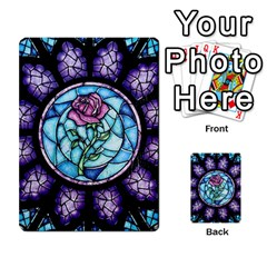 Cathedral Rosette Stained Glass Beauty And The Beast Multi-purpose Cards (Rectangle)