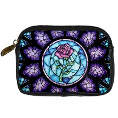 Cathedral Rosette Stained Glass Beauty And The Beast Digital Camera Cases