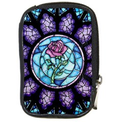 Cathedral Rosette Stained Glass Beauty And The Beast Compact Camera Cases