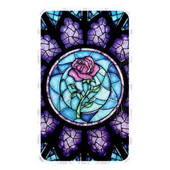 Cathedral Rosette Stained Glass Beauty And The Beast Memory Card Reader