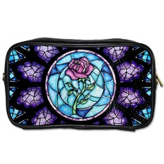 Cathedral Rosette Stained Glass Beauty And The Beast Toiletries Bags 2-Side