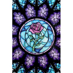 Cathedral Rosette Stained Glass Beauty And The Beast 5.5  x 8.5  Notebooks