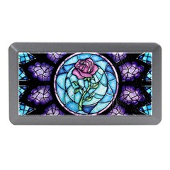 Cathedral Rosette Stained Glass Beauty And The Beast Memory Card Reader (Mini)