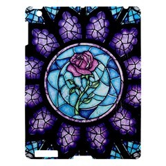 Cathedral Rosette Stained Glass Beauty And The Beast Apple iPad 3/4 Hardshell Case