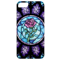 Cathedral Rosette Stained Glass Beauty And The Beast Apple iPhone 5 Classic Hardshell Case
