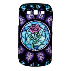 Cathedral Rosette Stained Glass Beauty And The Beast Samsung Galaxy S III Classic Hardshell Case (PC+Silicone)
