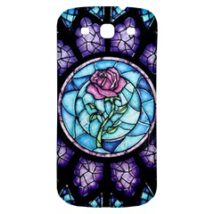 Cathedral Rosette Stained Glass Beauty And The Beast Samsung Galaxy S3 S III Classic Hardshell Back Case