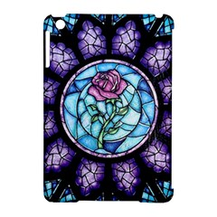 Cathedral Rosette Stained Glass Beauty And The Beast Apple iPad Mini Hardshell Case (Compatible with Smart Cover)