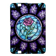 Cathedral Rosette Stained Glass Beauty And The Beast Kindle Fire HD 8.9