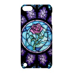 Cathedral Rosette Stained Glass Beauty And The Beast Apple iPod Touch 5 Hardshell Case with Stand
