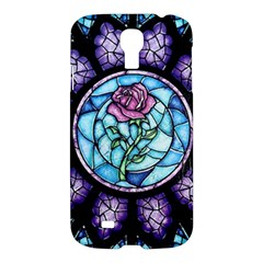 Cathedral Rosette Stained Glass Beauty And The Beast Samsung Galaxy S4 I9500/I9505 Hardshell Case