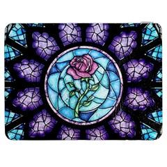 Cathedral Rosette Stained Glass Beauty And The Beast Samsung Galaxy Tab 7  P1000 Flip Case