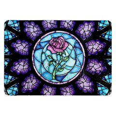 Cathedral Rosette Stained Glass Beauty And The Beast Samsung Galaxy Tab 8.9  P7300 Flip Case