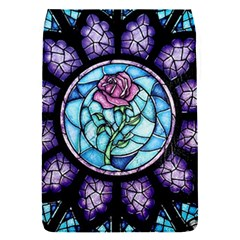 Cathedral Rosette Stained Glass Beauty And The Beast Flap Covers (S)