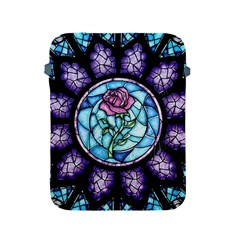 Cathedral Rosette Stained Glass Beauty And The Beast Apple iPad 2/3/4 Protective Soft Cases
