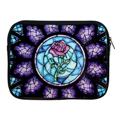Cathedral Rosette Stained Glass Beauty And The Beast Apple iPad 2/3/4 Zipper Cases
