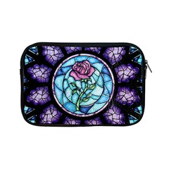 Cathedral Rosette Stained Glass Beauty And The Beast Apple iPad Mini Zipper Cases