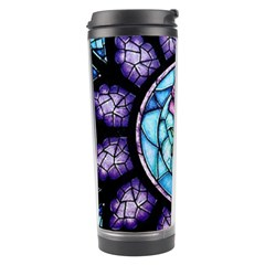Cathedral Rosette Stained Glass Beauty And The Beast Travel Tumbler