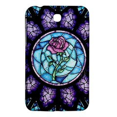 Cathedral Rosette Stained Glass Beauty And The Beast Samsung Galaxy Tab 3 (7 ) P3200 Hardshell Case