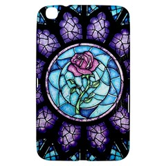 Cathedral Rosette Stained Glass Beauty And The Beast Samsung Galaxy Tab 3 (8 ) T3100 Hardshell Case