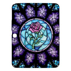 Cathedral Rosette Stained Glass Beauty And The Beast Samsung Galaxy Tab 3 (10.1 ) P5200 Hardshell Case