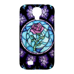 Cathedral Rosette Stained Glass Beauty And The Beast Samsung Galaxy S4 Classic Hardshell Case (PC+Silicone)